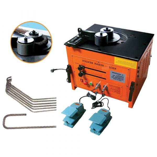 KONATO-RB32-Portable-rebar-bender intruduce