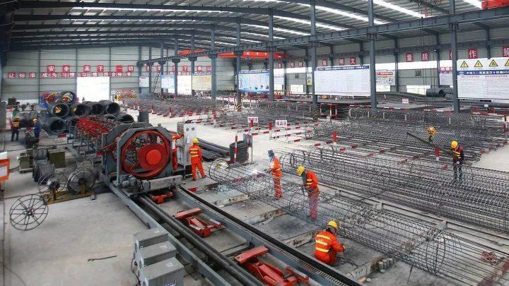 KONATO steel bar processing construction site
