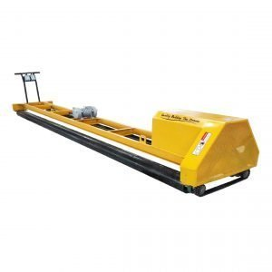 concrete paving machine with 2 rollers