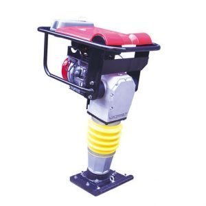 Vibratory-tamping-rammer with red cover